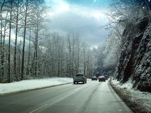 gatlinburg winter traffic