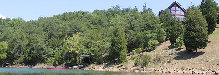 Lakefront smoky mountain cabins publicscrutiny Choice Image