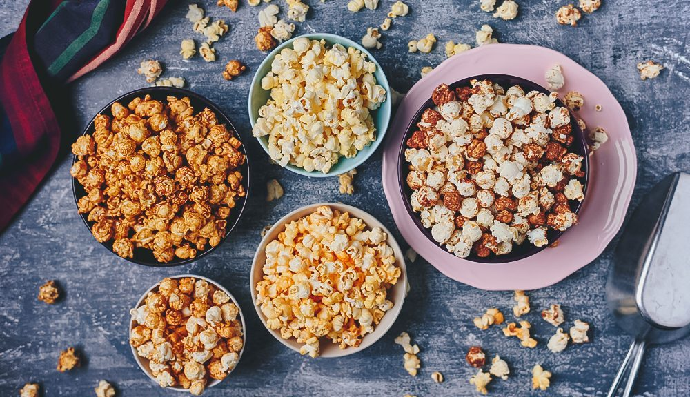 october popcorn month - feat