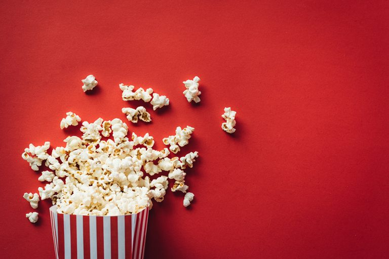 Celebrate National Popcorn Poppin' Month at Smoky Mountain Cabins with Theater Rooms!