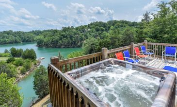 Waterfront Smoky Mountain Cabin Rentals