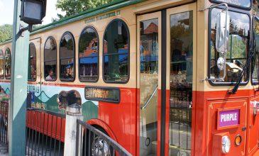 Gatlinburg Free trolley