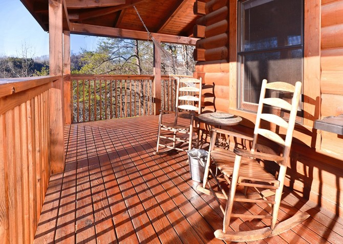 Pigeon Forge - Knotty Desire - Exterior Deck