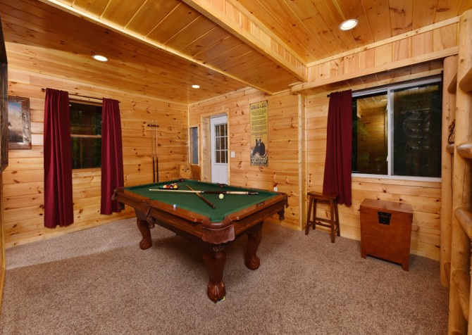 Gatlinburg Cabin - Think A Little Less - Rec Room