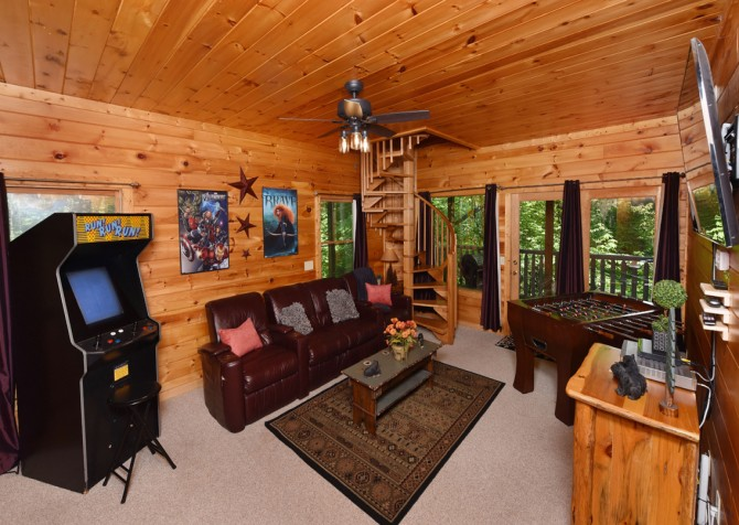 Pigeon Forge - Cedar Forest - Rec Room