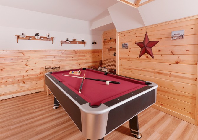 Pigeon Forge - Sky Surfer - Pool Table