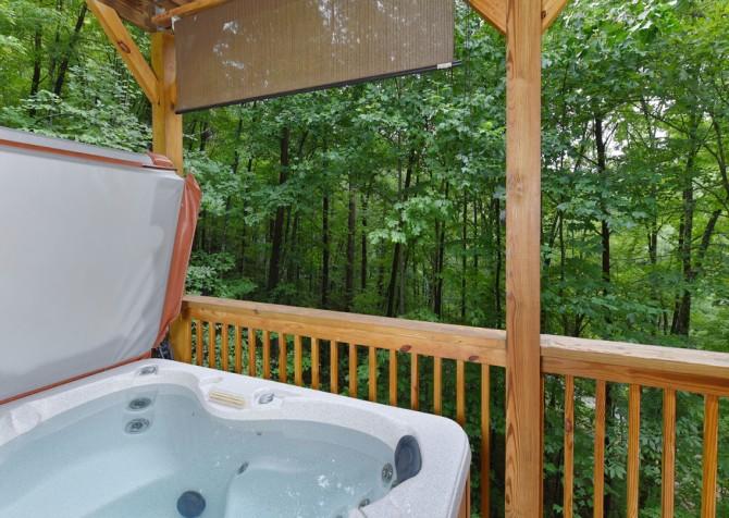 Gatlinburg - The Tree House - Hot Tub