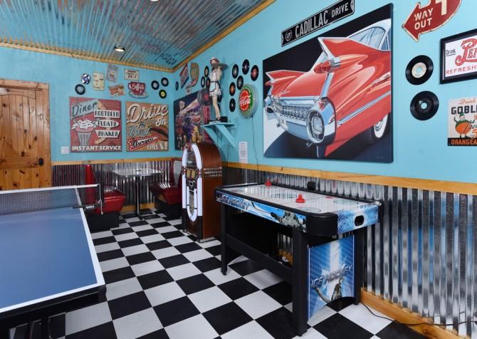Pigeon Forge Cabin- Cadillac Creek – Rec Room