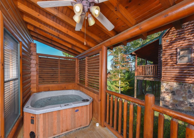 Pigeon Forge - Bearly Normal - Hot Tub
