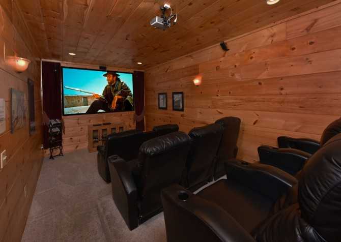 pigeon forge - Once Upon a View - Theater Room