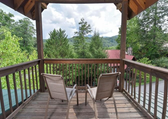 Gatlinburg Cabin - Our Mountain Home - View
