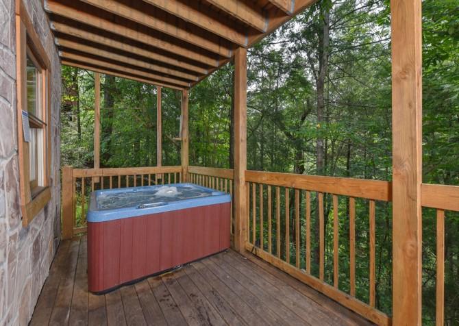 Gatlinburg Cabin - Our Mountain Home - Hot Tub