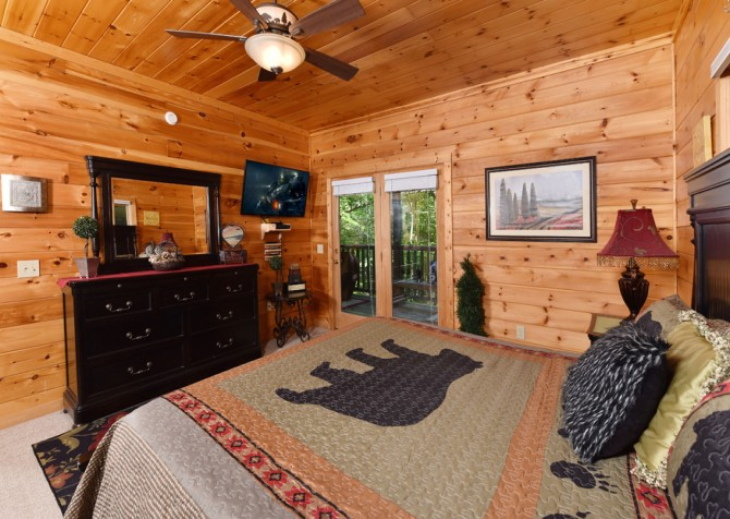 Pigeon Forge - Cedar Forest - Bedroom