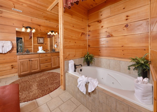 pigeon forge - Once Upon a View - Bathroom