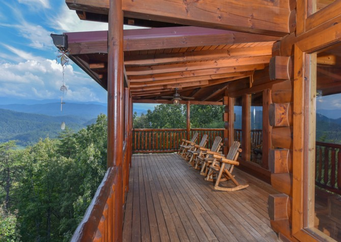 pigeon forge - Once Upon a View - Deck