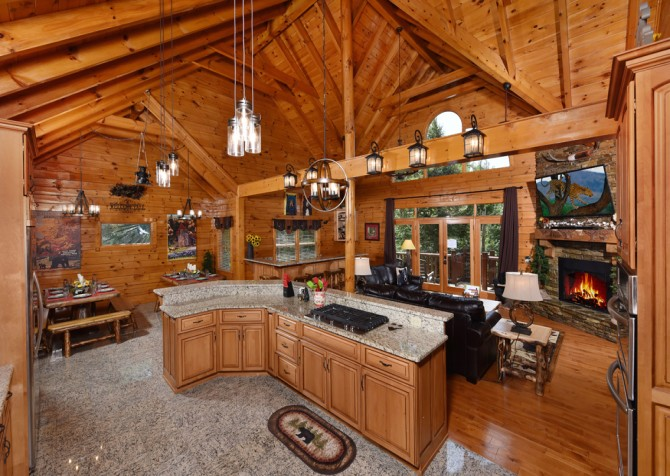 Pigeon Forge Cabin- Cadillac Creek – Kitchen