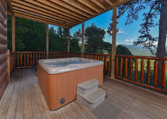 pigeon forge - Once Upon a View - Hot Tub