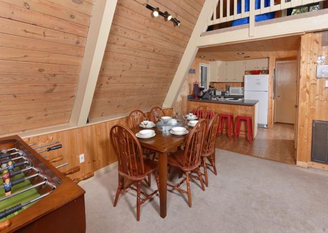 Gatlinburg Cabin - The Raven's Nest - Kitchen