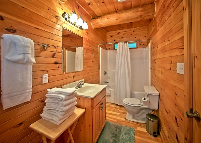 Timber Toy - Bathroom