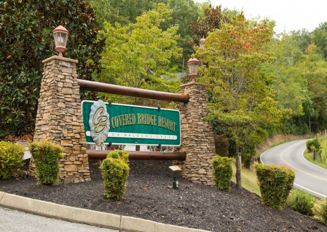 Pigeon Forge – Covered Bridge Resort - Pool Entrance