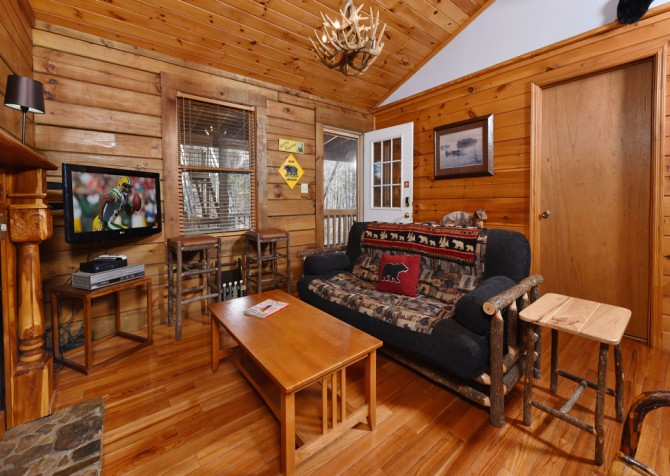 Pigeon Forge - Little Bearadise - Living Room