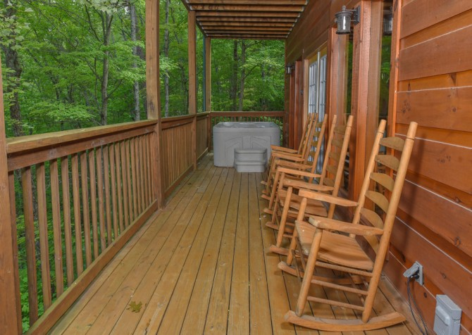 pigeon forge - kiss the moon - Deck