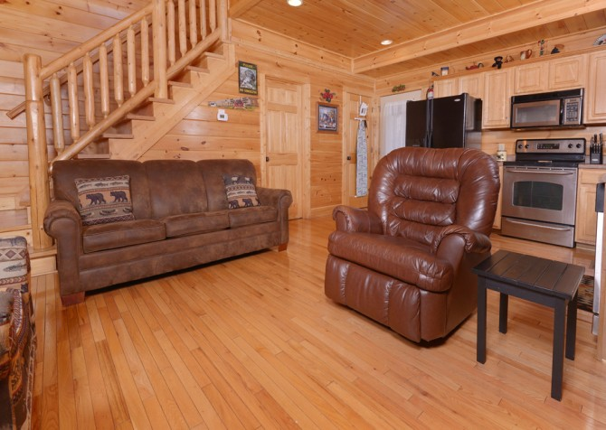 pigeon forge cabin – dancing with the stars – Kitchen