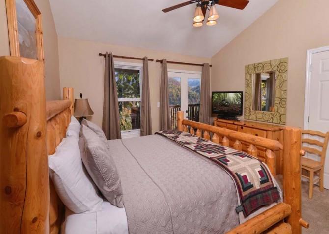 Gatlinburg Cabin- Absolute Heaven - Bedroom 2