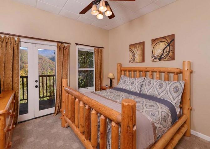 Gatlinburg Cabin- Absolute Heaven - Bedroom 3
