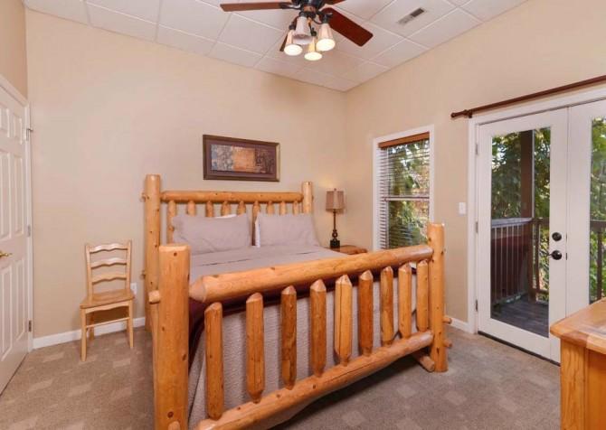 Gatlinburg Cabin- Absolute Heaven - Bedroom 4