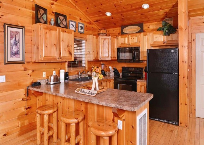Gatlinburg Cabin- Absolute Heaven - Kitchen