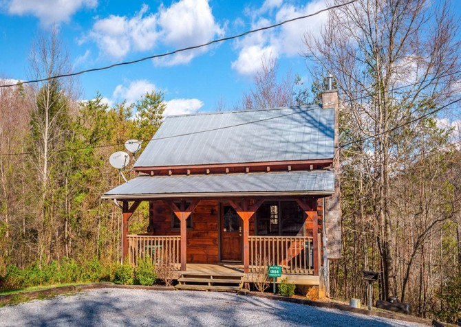 Pigeon Forge Cabin- American Dream – Exterior
