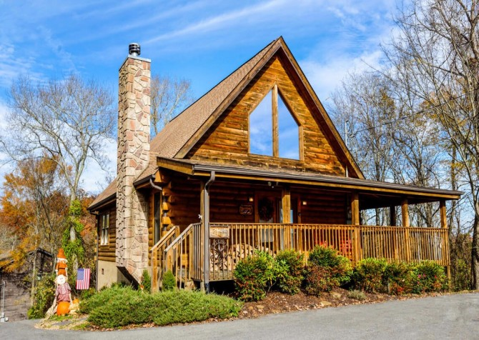 Pigeon Forge Cabin- American Eagle – Exterior
