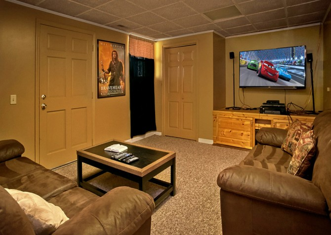 Pigeon Forge Cabin- An Unforgettable Cabin – Media Room