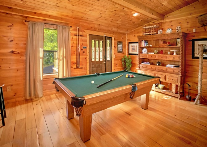 Pigeon Forge Cabin- An Unforgettable Cabin – Pool Table