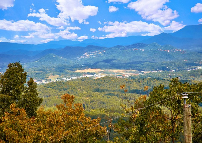 Pigeon Forge Cabin- An Unforgettable Cabin – View