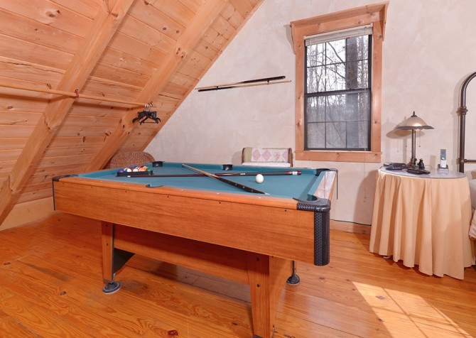 Wild Rose Pool Table