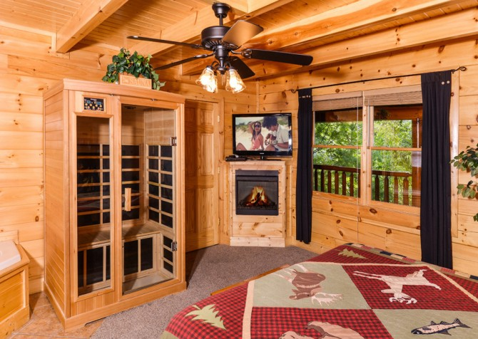 Pigeon Forge - A Bear Creek Crib - Bedroom