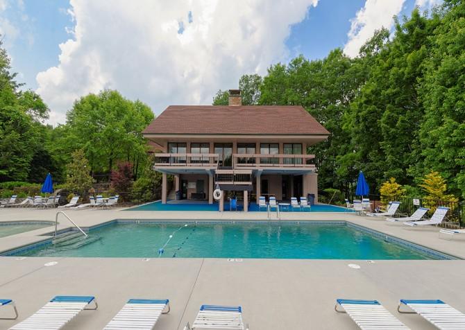 Gatlinburg - Creekside Manor - Chalet Village Resort Pool