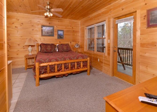 pigeon forge cabin – close to heaven – bedrooms