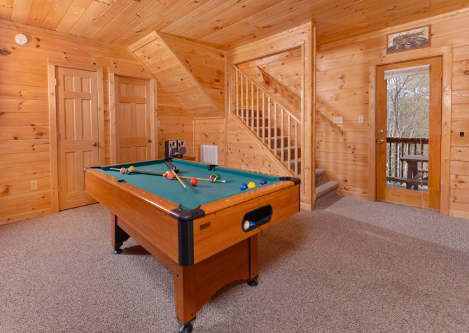 pigeon forge cabin – close to heaven – games