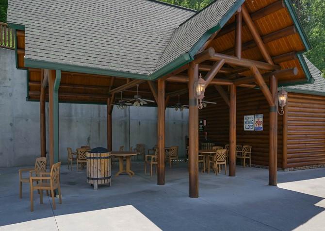 Pigeon Forge – Covered Bridge Resort - Sitting Area