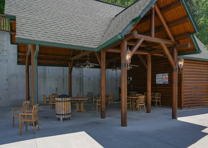 Pigeon Forge – Covered Bridge Resort - Sitting Area
