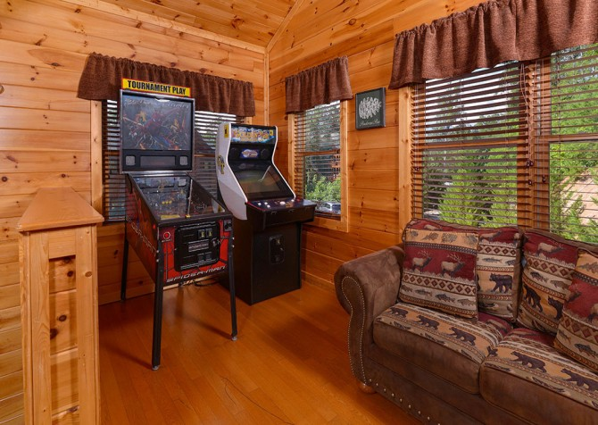 Gatlinburg Cabin - Bearskin Lodge - Games