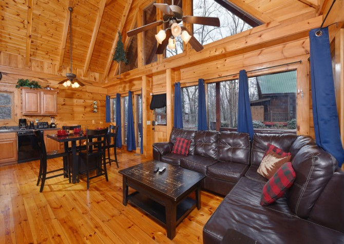 Gatlinburg - A Bear's Eye View - Living Room