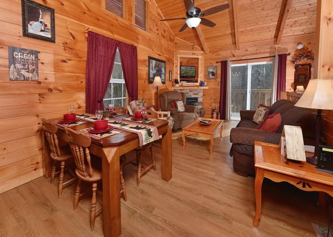 Gatlinburg - A Blissful Bear - Kitchen