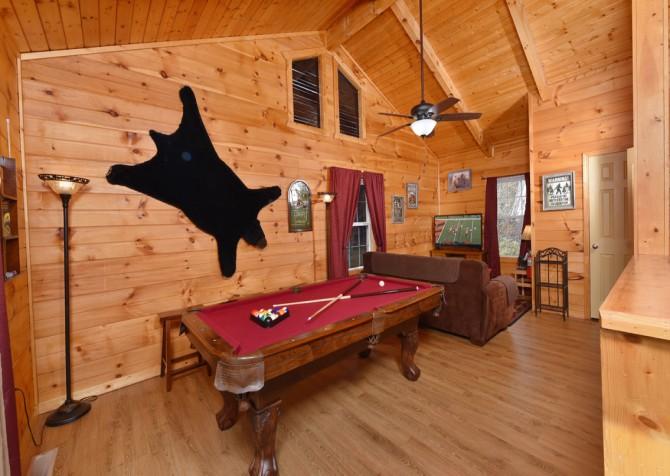 Gatlinburg - A Blissful Bear - Rec Room