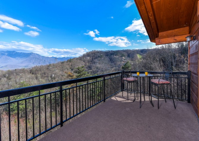 Gatlinburg - A Million Dollar View - Open Deck