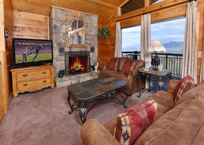 Gatlinburg - A Million Dollar View - Rec Room