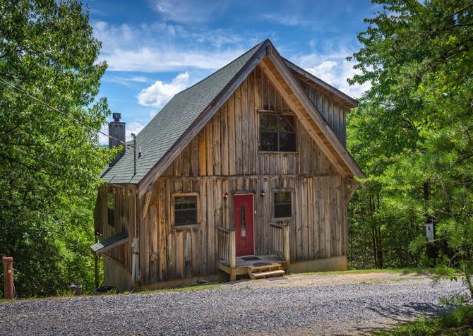 gatlinburg cabin - bella vista - exterior